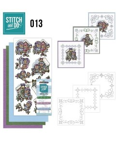 KIT 3D A BRODER OISEAUX HIVER STDO013