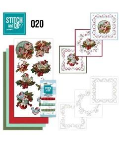 KIT 3D A BRODER CHRISTMAS STDO020