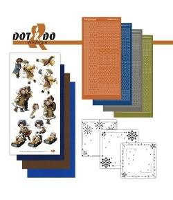KIT 3D DOT FILLETTE NOEL DODO023
