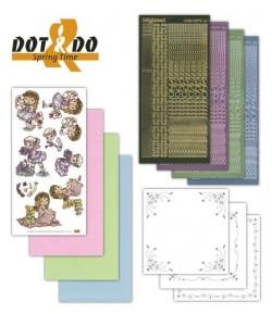 KIT 3D DOT PETITE FILLE DODO010