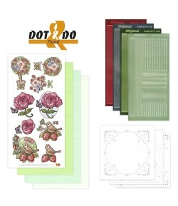 KIT 3D DOT FLORAL DODO002