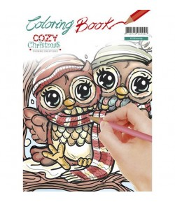 CAHIER COLORIAGE COZY CHRISTMAS