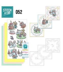 KIT 3D A BRODER ANIMAUX STDO052
