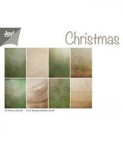 BLOC PAPIERS A4 CHRISTMAS 21X29.7 CM
