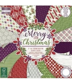BLOC 30X30 MERRY LITTLE CHRISTMAS