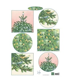 FEUILLE DECOS NOEL IT598