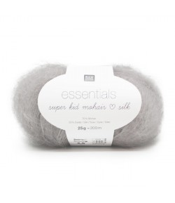 LAINE SUPER KID MOHAIR SILK ARGENT (008)
