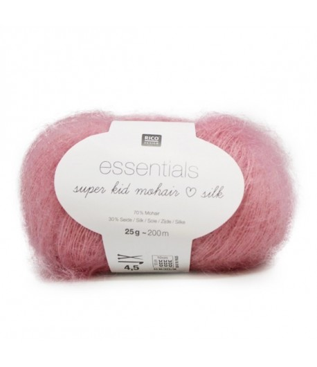 LAINE SUPER KID MOHAIR SILK ORCHIDEE (010)