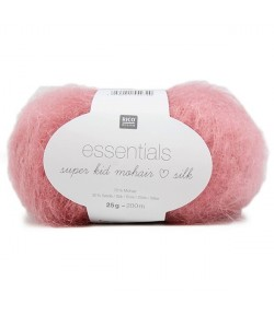 LAINE SUPER KID MOHAIR SILK VIEUX ROSE (013)