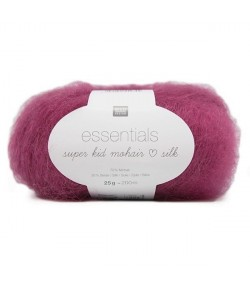LAINE SUPER KID MOHAIR SILK LILAS (015)