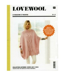 LIVRE TRICOT LOVEWOOL N° 5 AUTOMNE HIVER