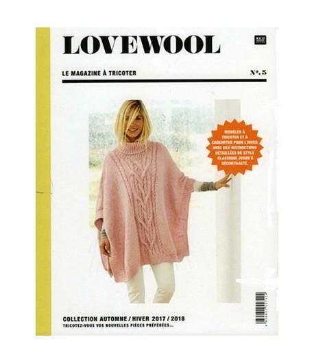 Livre Tricot Lovewool N 5