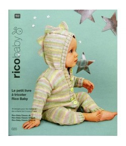 LIVRE TRICOT RICO BABY CLASSIC 020