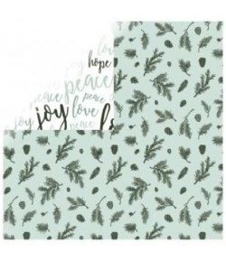 PAPIER KC MINT WISHES - SPEARMINT