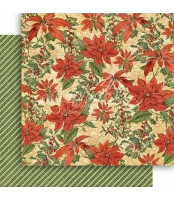 PAPIER G45 WINTER WONDERLAND PRETTY POINSETTIA