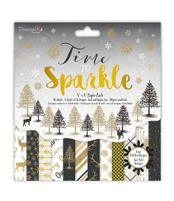 BLOC 20X20 TIME TO SPARKLE - 36 FEUILLES