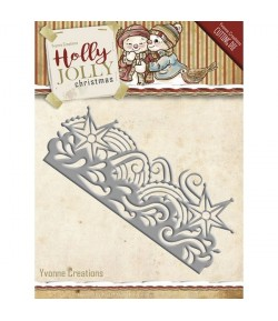 DIE HOLLY JOLLY BORDURE