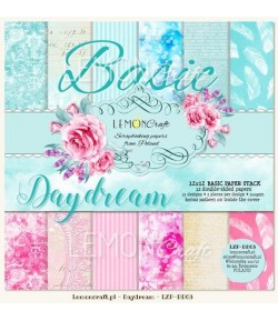 BLOC PAPIER 30X30 DAYDREAM BASIC - LEMON CRAFT