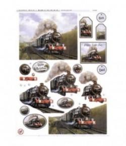 FEUILLE 3D TRAIN DCD544