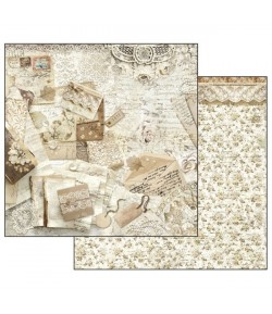 PAPIER 30X30 OLD LACE SBB524