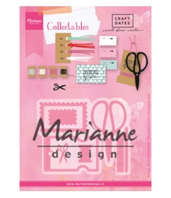 DIES COUTURE COLLECTABLES - COL1445
