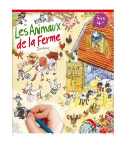 DECALCOMANIES LES ANIMAUX DE LA FERME