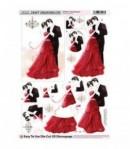 FEUILLE 3D SWEET ROMANCE DCD590