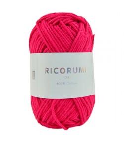 COTON RICORUMI ROSE FRAMBOISE (013)