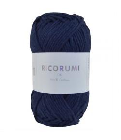 COTON RICORUMI  BLEU MARINE (036)