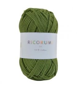 COTON RICORUMI  OLIVE (048)