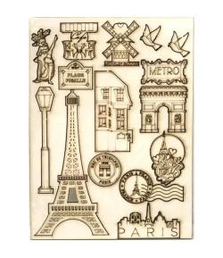 FORMES CARTON BOIS PARIS