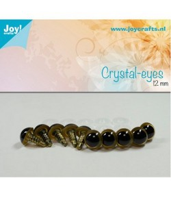 10 YEUX CRISTAL - 10MM