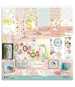 KIT SCRAP PRINTEMPS - 30 X 30
