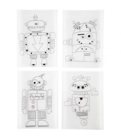 PLASTIQUE DINGUE ROBOTS