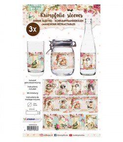 DECOS FILMS RETRACTABLES 10 CM - SHABBY CHIC 24
