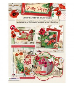BLOC 3D A4 PRETTY POPPY - 65