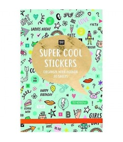 LIVRET 20 PAGES STICKERS WONDERLAND