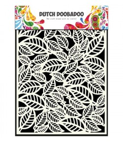 POCHOIR FEUILLES - DUTCH DOOBADOO