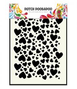 POCHOIR COEURS - DUTCH DOOBADOO