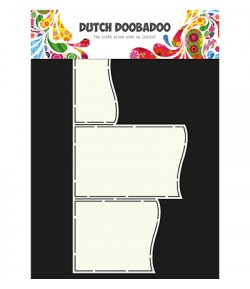 GABARIT ART WAVE CARD - DUTCH DOOBADOO (637)