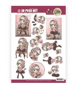 FEUILLE 3D LILLY LUNA SB10209