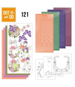 KIT 3D DOT PAPILLONS DODO121