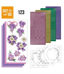 KIT 3D DOT PAPILLONS - 123