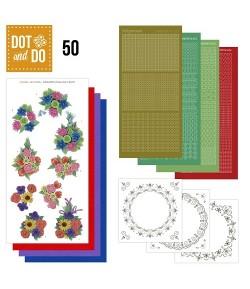 KIT 3D DOT FLEURS DODO050