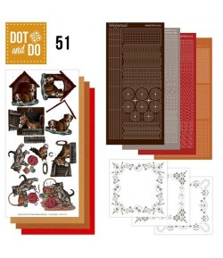 KIT 3D DOT ANIMAUX DODO051