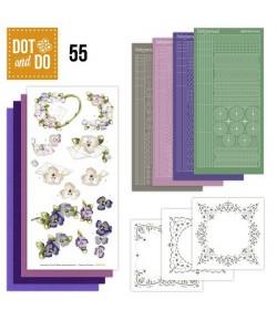 KIT 3D DOT FLEURS DODO055