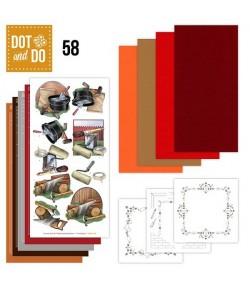 KIT 3D DOT BRICOLAGE DODO058