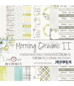 BLOC PAPIER 15X15 MORNING DREAM - CRAFT O CLOCK
