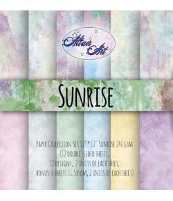 BLOC PAPIER 15X15 SUNRISE - ALTAIR ART