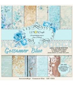 BLOC PAPIER 30X30 GOSSAMER BLUE - LEMON CRAFT